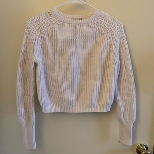American Apparel Knit Cropped Sweater